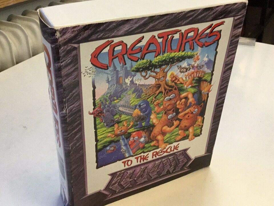 Creatures -to The rescue Amiga , Commodore Amiga
