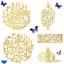 Allah-Muhammad-Islamic-Wooden-Wall-Art-Calligraphy-Arabic-Living-Room-decals-Mdf thumbnail 1