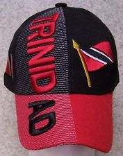Embroidered Baseball Cap International Trinidad & Tobago NEW 1 hat size fits all