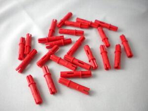 10x Lego Technic NEU Achspin 3L mit Achse 1L rot 11214 Technik 6209519 Pin NEU