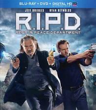 R.I.P.D. (Blu-ray/DVD, 2013, 2-Disc Set, Incl.Digital)new/sealed - NO SLIPCOVERS