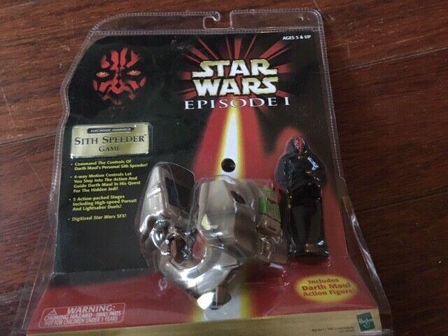marcas en línea venta barata Estrella Wars episodio 1 Darth Maul Sith Speeder juego juego juego todavía FAO negro Hasbro Tiger  orden ahora disfrutar de gran descuento