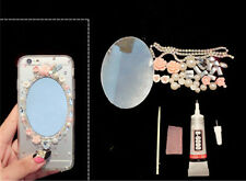 3D deco den kit alloy mirror flowers diy cellphone phone case resin  flatback