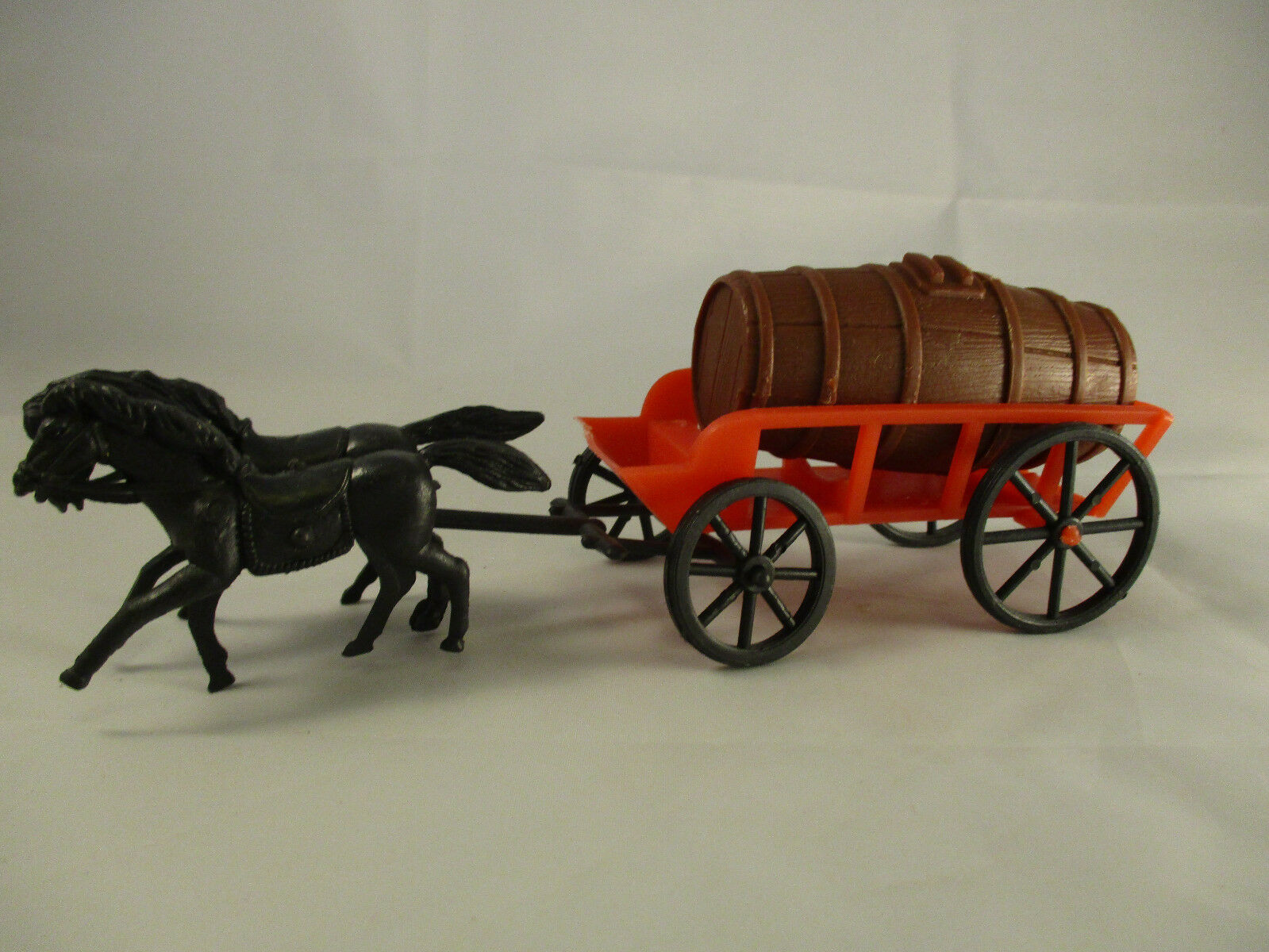 Toy Wagon with Two Horses