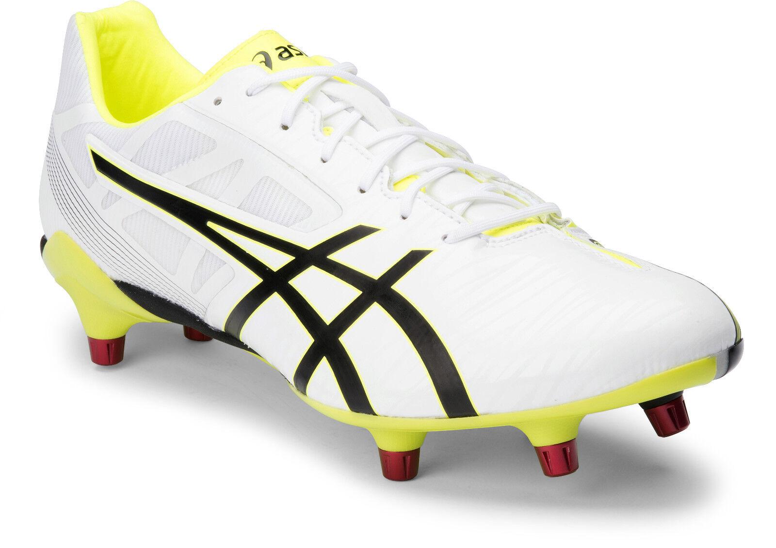 Asics Gel letal Speed Para Hombre botas de fútbol (0190) + Entrega Gratis Australia De Ancho