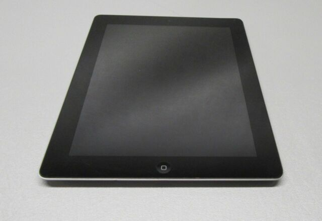 """Apple A1458 iPad Black 4th Generation Touchscreen WiFi Tablet 16GB 9.7"""" *Tested*"""