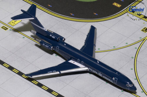 GEMINI JETS MEXICAN FEDERAL POLICE BOEING 727-200 1:400 GJPFM1705 IN STOCK