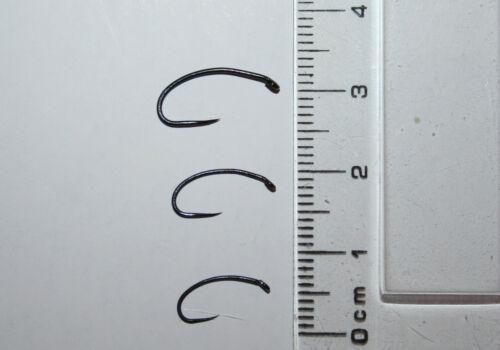 KNAPEK barbless chrysalide pour mouches crochets Pkts de 25 tailles de # 12 à # 16