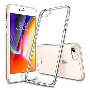 iPhone-8-Case-Shock-Proof-Crystal-Clear-Soft-Silicone-Gel-Bumper-Cover-Slim