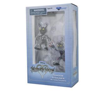 Figurine Disney Kingdom Hearts Shadow et Soldat Action Figures 1.5 Neuf