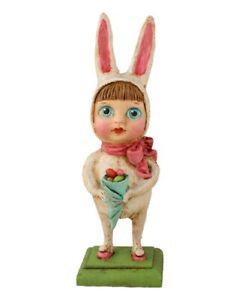 Bethany-Lowe-034-Baby-Bunny-Bunting-034-Figure-Design-by-Debra-Schoch-HH6942