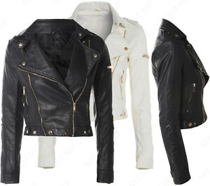 Ladies leather jacket 10