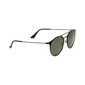 Ray-Ban-Steel-Frame-Green-Classic-Lens-Unisex-Sunglasses-RB3546
