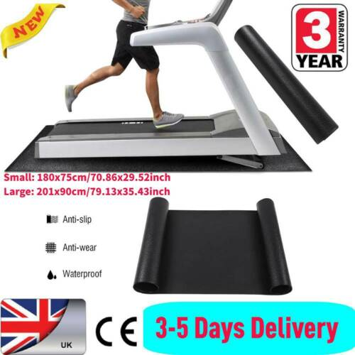 Brand New Treadmill Mat Large Floor Protector Exercise Fitness Gym Equipment Mat