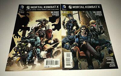 Mortal Kombat X 6 7 Dc Comic Books Shawn Kittelsen Sub Zero