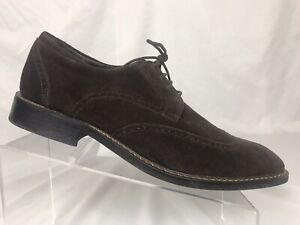 Zapatos De Vestir Joseph Abboud Para Hombres Wing Tip Gamuza