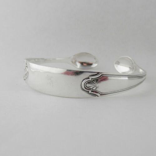 Sterling Silver Bangle Sugar Tong Handmade Art Deco Bracelet date 1931 Unique