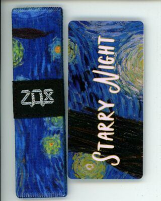 Large ZOX Silver Strap SHOW UP Wristband with Card Reversible