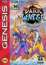 Pirates of Dark Water (Sega Genesis, 1994) with manual