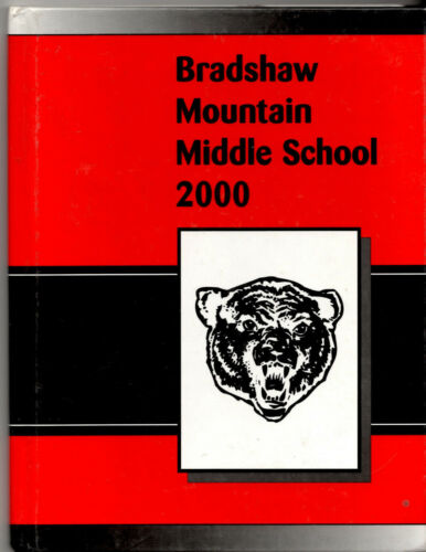 BRADSHAW MTN. MIDDLE SCHOOL 2000 MEGANROSE DOUCETTE YEARBOOK