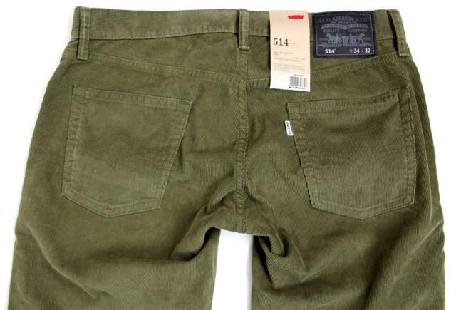 New Levi's Strauss 514 Men's Original Slim Fit Straight Leg Jeans Pants 514-0373