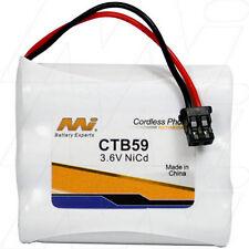 CTB59 3.6V NiCd Cordless Phone Battery