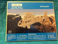 Creatology: Wooden Puzzle Helicopter