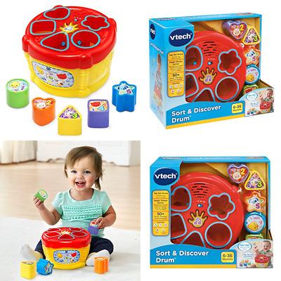 Vtech Baby Sort /& Discover Drum