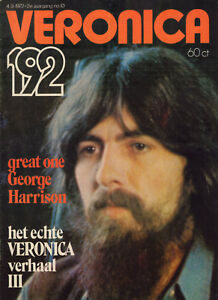 VERONICA-1972-nr-10-BEATLES-SPECIAL-GEORGE-HARRISON-COVER-LENNY-KUHR
