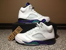 AIR JORDAN 5 RETRO Grape White Black Nike V 1 3 4 6 11 Supreme DB Toro Fear 8.5