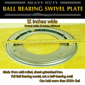1-pc-12-inch-305mm-Full-Ball-Bearing-Swivel-Plate-Lazy-Susan-Turntable