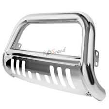 3 Stainless Steel Bull Bar Front Bumper Grille Guard For 02 09 Ram 1500 3500 Fits 2005 Dodge Ram 1500