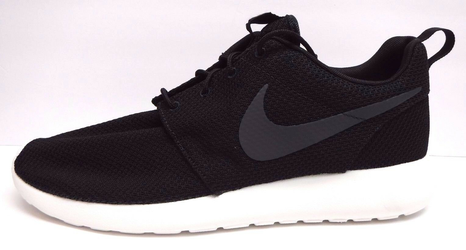 Nike Size 12 Black Shoes Running Sneakers New Mens Shoes Black 33187d