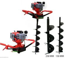 Ranch Yard Post Fencing Planting Soil Hole Digger Epa With10 6 Auger Bits