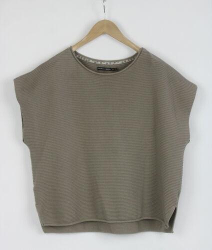 GUDRUN SJODEN Women's XL Organic Cotton Horizontal