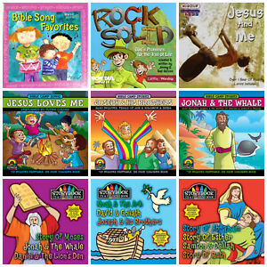 Details about 9 KIDS CHRISTIAN CD LOT Bible stories,camp songs,childrens  inspirational/worship