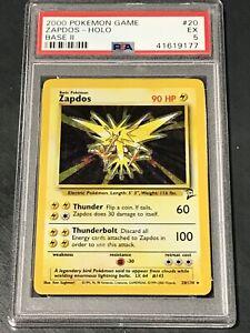 2000-Pokemon-Zapdos-Holo-20-PSA-5