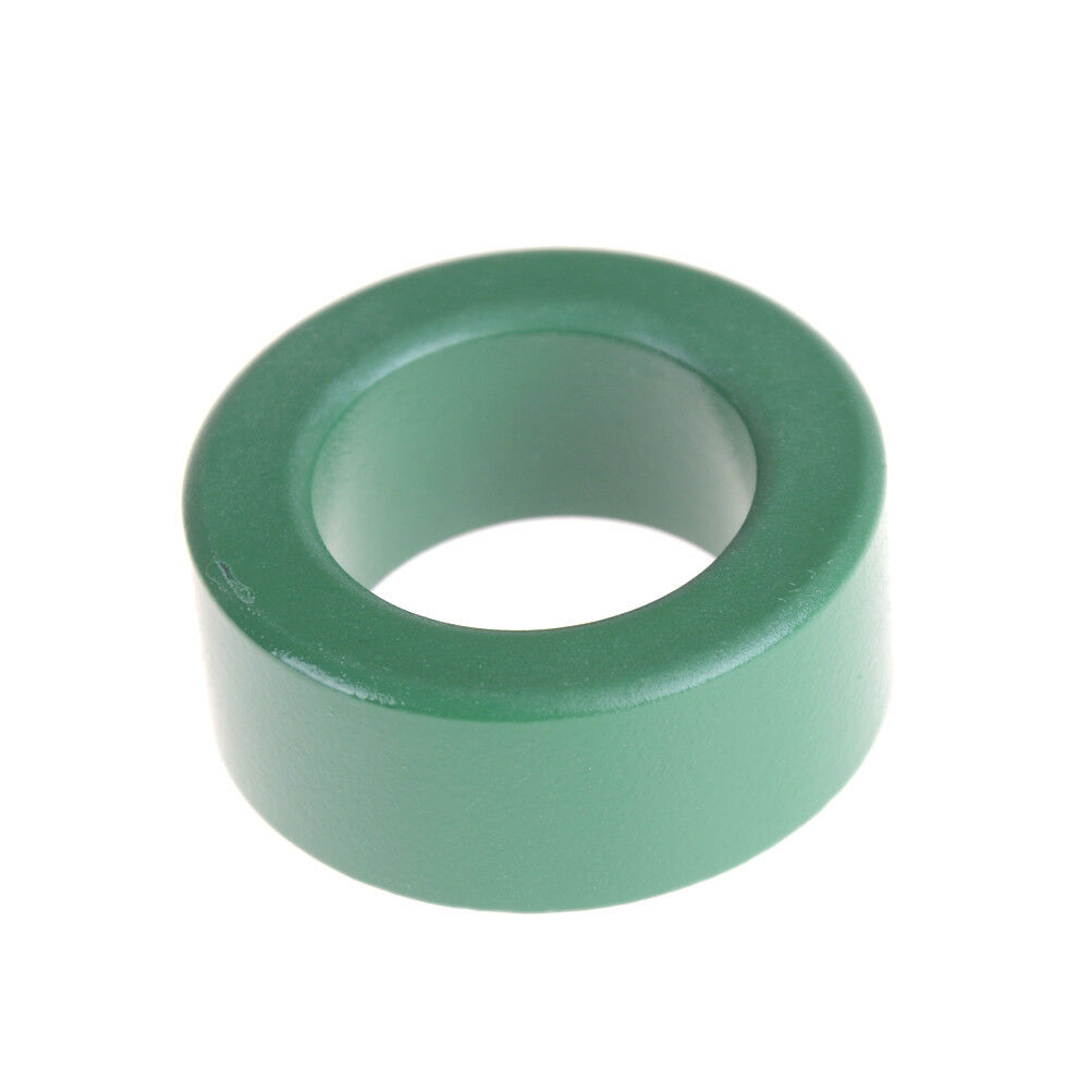 36mm x 23mm x 15mm Round Green Iron Inductor Coils Toroid Ferrite Cores TB