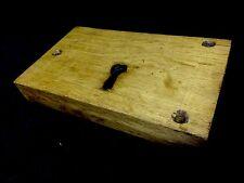 VINTAGE English Oak SERRATURA cassa, architettonico Salvage Knocker Maniglia Manopola Bell