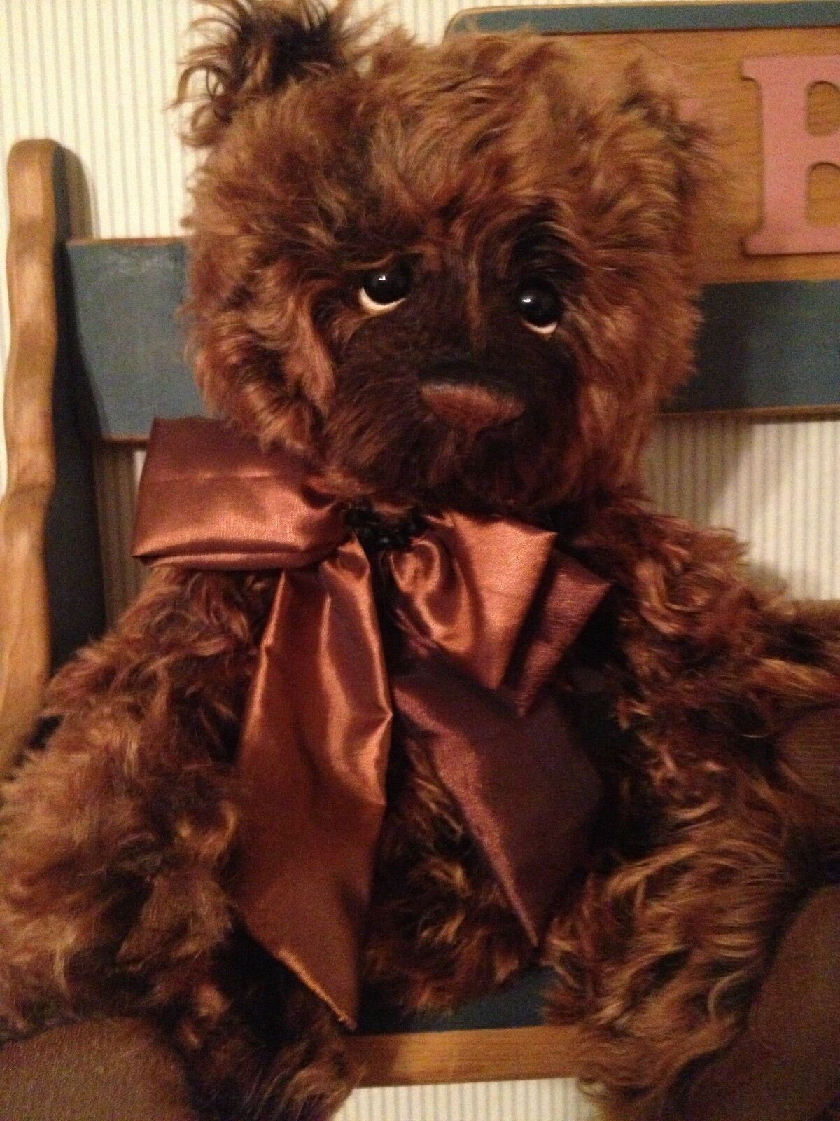 Charlie Bears REBUS 2012 Isabelle Mohair Collection FREE US SHIP