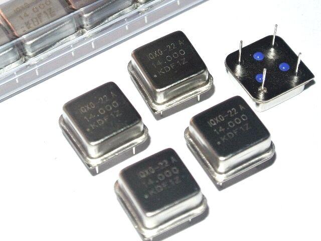 14.000MHz IQXO-22A IQD CLOCK OSCILLATORS 14MHz 14.0MHz [QTY=5 PCS]