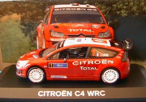 CITROEN C4 WRC  1 SEBASTIEN LOEB ELENA TOUR CORSE 2007 NOREV AMC 018882 1 43