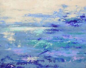 Peinture-TABLEAU-PAYSAGE-ABSTRAIT-signe-HZEN-034-UN-ENDROIT-OU-ALLER-034-92x73-cm