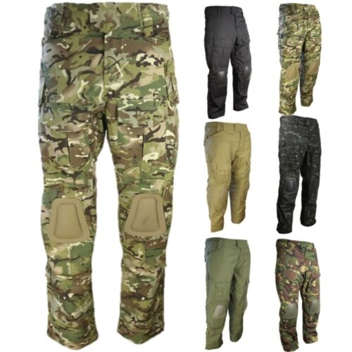Knee coyote Camoflauge Camouflage Workwear black In btp Ops Special dpm Army Pads Ripstop Trousers green Dpm Camo Mtp Camouflage Btp Built Black wfHXFZqT