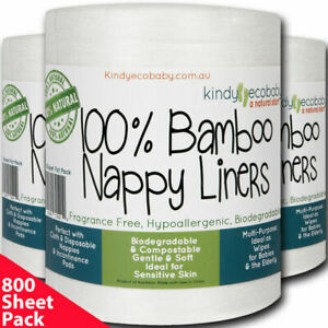 Kindy Ecobaby BNL6BST 600 Bamboo Nappy Liners