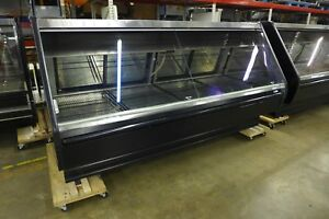Tyler-TLM8-Service-Lift-Glass-Gravity-Coil-Meat-Deli-Grocery-Cooler-Display-Case