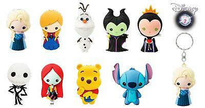 Disney Collectible 3d Foam Figural Keyring Keychain