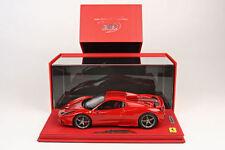 BBR 2014 Ferrari 458 Speciale A Spider Red Closed DELUXE W/CASE 1:18* P18102CRRV