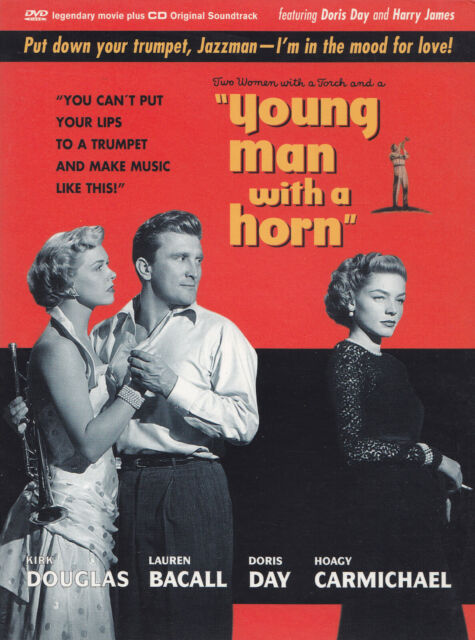 """YOUNG MAN WITH A HORN"" - DVD + CD Soundtrack - KIRK DOUGLAS, LAUREN BACALL u.a."