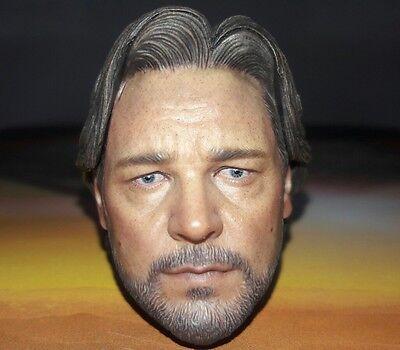 1//6 Hot Toys The Man Of Steel Jor-EL MMS201 Head sculpt *US Seller*